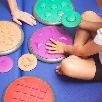 Occupational therapy methods for sensory processing disorder